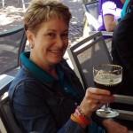 Anita Enjoying her Westvleteren 12