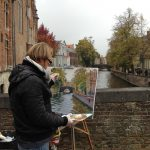 Bruges Artist at Work