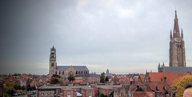 Belgium skyline