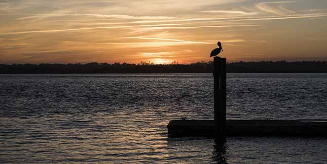 St. Augustine sunset